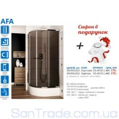 Душевая кабина в наборе Aquaform Afa (90x90)