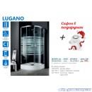 Душевая кабина в наборе Aquaform Lugano (90x90)