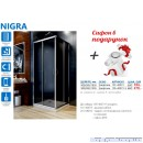 Душевая кабина в наборе Aquaform Nigra (90x90)