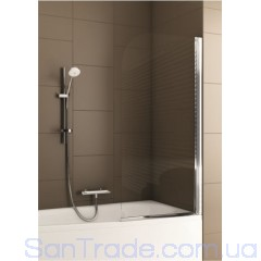 Шторка на ванну Aquaform Modern 1 хром/прозрачное