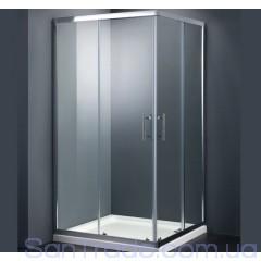 Душевая кабина Dusel A-513 (70x70x190) стекло полоска