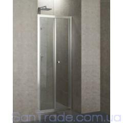 Душевые двери Eger 599-163 (90x185) bi-fold