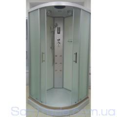 Гидромассажный бокс Atlantis AKL 100PT(XL) (100x100x215) низкий поддон