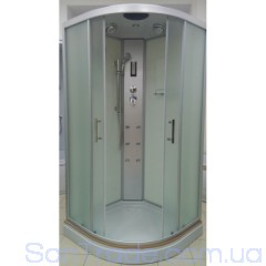 Гидромассажный бокс Atlantis AKL 100P-T(XL) (100x100x215) низкий поддон