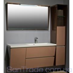 Комплект мебели для ванной Буль-Буль Peggy 1250
