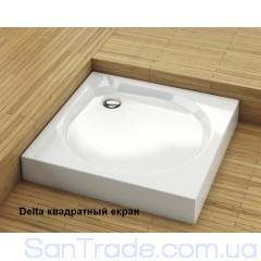 Поддон душевой Aquaform Delta квадратный с экраном (80x80)