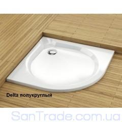 Поддон душевой Aquaform Delta полукруглый мелкий (90x90)