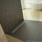 Душевая плита Radaway прямоугольная (1090x790) с линейным трапом вдоль длинной стороны под кафель 5-7 мм