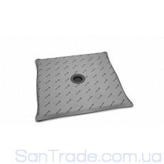 Душевая плита Radaway квадратная (990x990) с компактным трапом