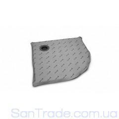 Душевая плита Radaway полугруглая (790x790) с компактным трапом