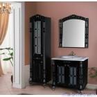 Комплект мебели Атолл Александрия 85 Black камень