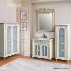 Комплект мебели Атолл Бисмарк камень (ясень, патина золото)