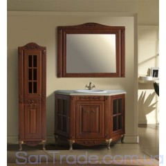Комплект мебели Атолл Верона 120 Scuro камень