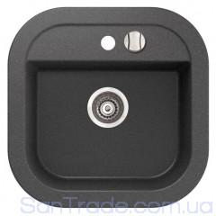 Мойка гранитная Marmorin Laver black 510103002 (50x50x19)