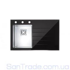 Мойка стальная Alveus Cristalix 10 (860x540x211) black 1099633
