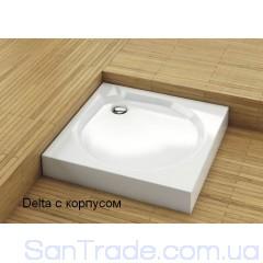 Поддон душевой Aquaform Delta c экраном (100x100) квадратный
