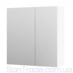 Шкаф с зеркалом Aquaform Amsterdam белый (600x600x160)