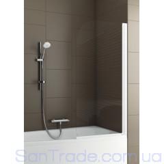 Шторка на ванну Aquaform Modern 1 матовый хром/прозрачное