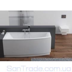 Ванна акриловая асимметричная Aquaform Arcline (160x70) левая