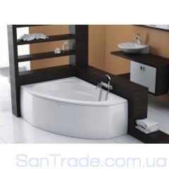 Ванна акриловая асимметричная Aquaform Cordoba (135,5x95) левая