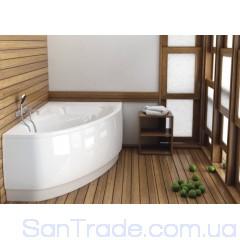 Ванна акриловая асимметричная Aquaform Helos Comfort (150x100) правая