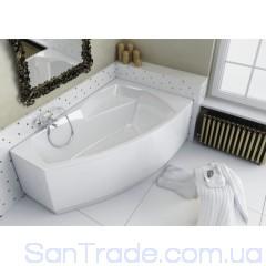 Ванна акриловая асимметричная Aquaform Senso (170x115) правая