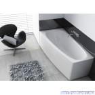 Ванна акриловая асимметричная Aquaform Simi (150x80) левая