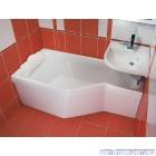Ванна акриловая ассиметричная RAVAK BeHappy (150x75)