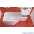 Ванна акриловая ассиметричная RAVAK BeHappy (160x75)