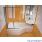 Ванна акриловая ассиметричная RAVAK BeHappy (170x75)