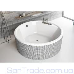 Ванна акриловая круглая Radaway Meteora 160