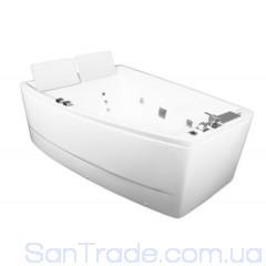 Ванна гидромассажная Volle 12-88-100/L (170x120x63) левая